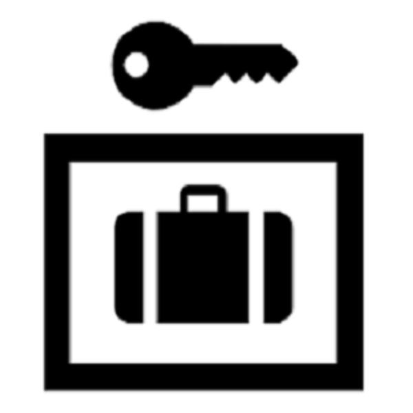 baggage lockers